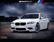 Újabb kémfotók a 2012-es BMW M5 (F10)-ről