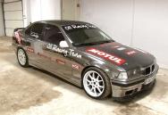 Ezüst csoda autó érkezik Szerbiából! - BMW E36 V8-Nitro