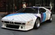 Aukción hozzájuthatsz: BMW M1 by Frank Stella