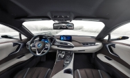 A BMW i8 Mirrorless és Extended Rearview Mirror