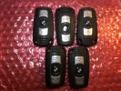 BMW 1/3/5 868 MHZ GYÁRI BONTOTT KULCS ( NULLÁZVA!!! TANÍTHATÓ!!! )