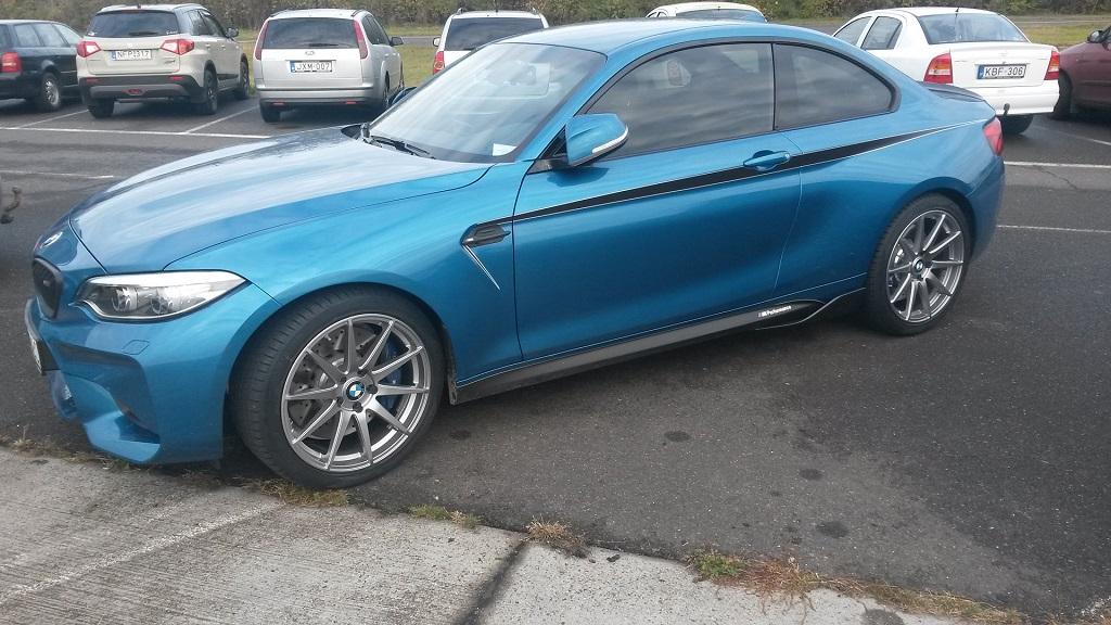BMW M2 nagyítás