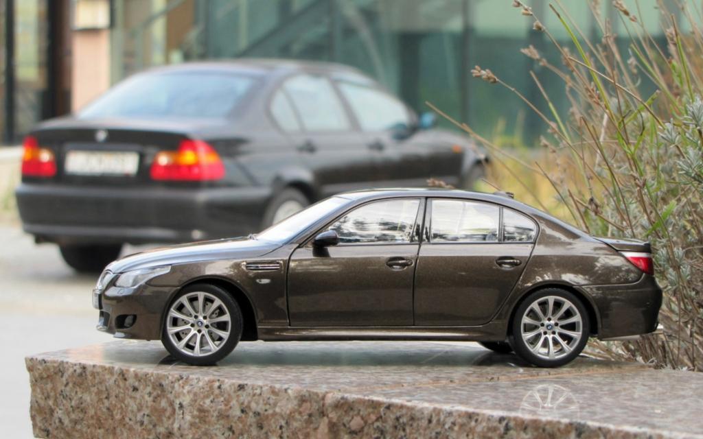 BMW 316i & M5 E60 nagyítás