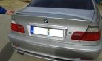 BMW E46 Coupe, Cabrio hátsó szárny