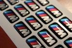 BMW M embléma, felnimatrica, kormánymatrica