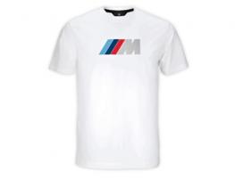 BMW M-es férfi rajongó póló (Fehér)