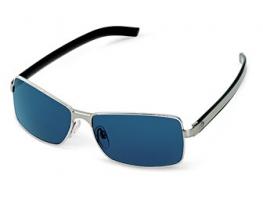 Fém BMW napszemüveg szürkében/kékben